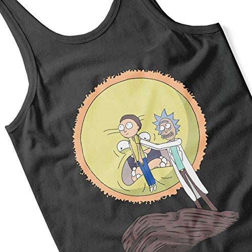 Rick And Morty Science King Men's Vest Black