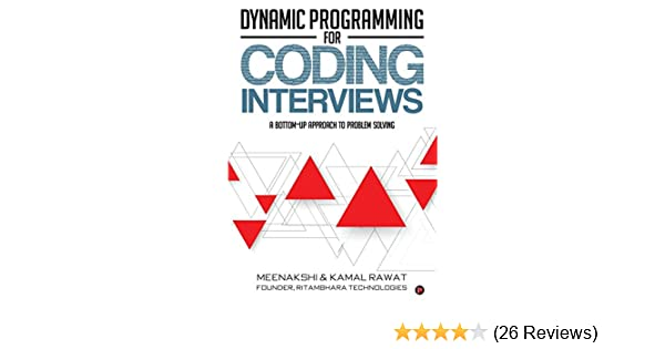 Buy Dynamic Programming for Coding Interviews: A Bottom-Up