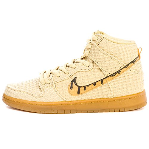 Nike Herren Dunk High Premium Sb Turnschuhe Gold