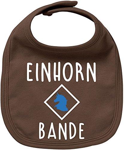 EZYshirt® Einhorn Bande Baby Lätzchen Halstuch