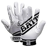 Battle Youth Hybrid Gloves (White, XLarge)