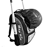 Hap Tim Baseball Bag/Softball Bag - Bat Bag Backpack per Bambini Ragazze Youth Adulti-Large Capacity Baseball/Softball Backpack Fits 2 Pipistrelli, Casco, Field Mask, Guanti(EU1001G)