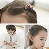 Youji® 50 pcs Women Girl Kids Baby Mini Flower Hair Claw Jaw Clip Hair Pin Hair Accessories Mix Colored