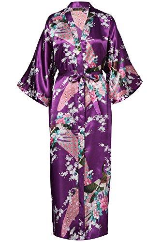 ArtiDeco Vestido Kimono Pijama Seda Novia Kimono Seda