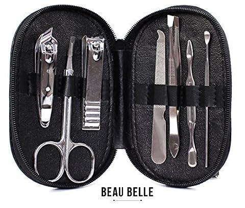 Beau Belle Nail Kit - Kit Manucure - Manucure Pedicure - Set Manucure - Pedicure - Pedicure Professionnel - Set Pedicure Manucure - Manicure Kit - Manicure Pedicure - Kit Pedicure - Manucure Kit - Nail Set - Manicure Accessories - Manucure Et Pedicure