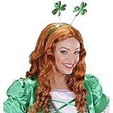 Accesorio de cabello trébol Banda para el pelo St. Patricks Day verde Sombrero día San Patricio Accesorios outfit disfraz Diadema trasgo Complemento irlandés