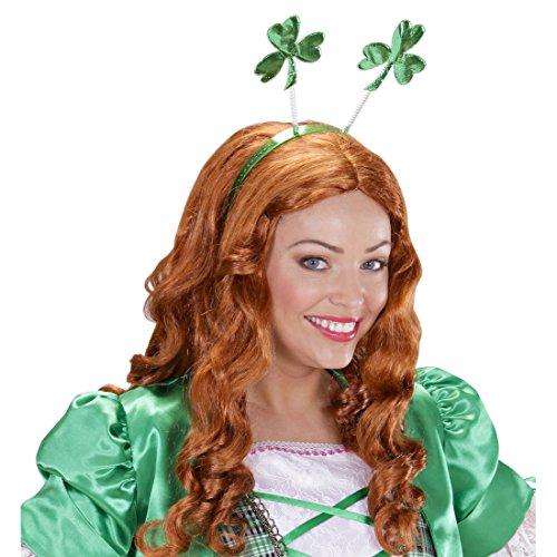 Kleeblatt Haarreifen St. Patricks Day Kopfschmuck Irland Haarreif Glück Kopfbügel Kleeblätter Haarschmuck Glücksbringer Accessoire Karneval Kostüm (Day St Zubehör Patricks)