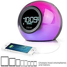 iHome ibt29Despertador con Bluetooth, Radio FM y R65411169chseler Negro