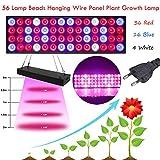 Grow Lamp TAOtTAO 56 Lampe Perlen Hängenden Draht Panel Pflanzenwachstum Lampe Gewächshaus Setzling EU