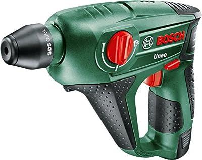 Bosch UNEO 10.8 LI-2 (1 Batt 1.5Ah) - Uneo 10,8 li-2 inalámbrico de iones de litio martillo perforador neumático con 1 x 10.8 v batería, 1,5 ah
