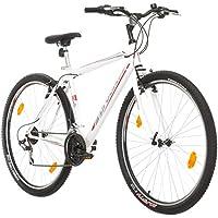 Multiband, PROBIKE Pro 29, 29 Zoll, 483 mm, Mountainbike, Unisex, 21-Fach Shimano, Kotflügel Vorne und Hinten, Weiß Rot-Blau