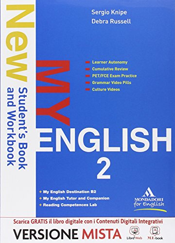 New my english. Con Reading competences lab-Destination B2-Myenglish tutor. Per le Scuole superiori. Con e-book. Con espansione online