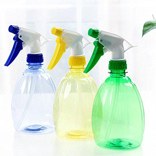 Xuniu Transparente Trigger vacío Bote Spray atomizador Flor Planta Color a Caso 9x 20,5cm