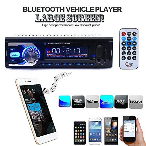 BoomBoost Car Radio FM stéréo au tableau de bord Bluetooth tête lecteur MP3 / USB / SD / AUX pour iPod