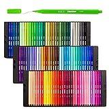 Fineliner Stifte , Shuttle Art 100 Farben 0.4mm Fineliner Stifte Set Fein Malen Stift Superfein Spitze Markers Pefekt für Erwachsene zum Malbuch Zeichnung Bullet Journal Kunst Projekte