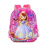 HLH Sophia Ice Barbie Étudiants Primaires Et Secondaires 6D3D Personnages Cartables D'école Cartoon Cartable Sac À Dos,Sophia