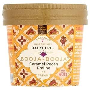 Booja Booja Caramel Pecan Praline Dairy Free Ice Cream 110 Ml Frozen