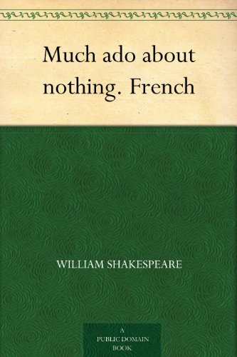 Couverture du livre Much ado about nothing. French