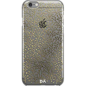 DailyObjects Berry Branches Gold Clear Case For iPhone 6