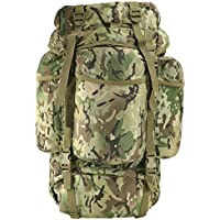 Kombat   Unisex Outdoor Kombat Backpack available in Camouflage - 60 Litres