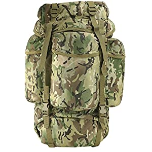 51dum99xfHL. SS300  - Kombat   Unisex Outdoor Kombat Backpack available in Camouflage - 60 Litres