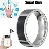 QHJ NFC multifunktionale wasserdichte intelligente Ring Smart Wear Finger Digital Ring (6)