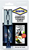 Bostik 10928acero rápido, Gris Metal, 24ml)
