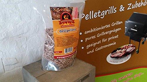 GRILLSCHMECKER Grill Pellets 100% Buche 1,5kg im Beutel