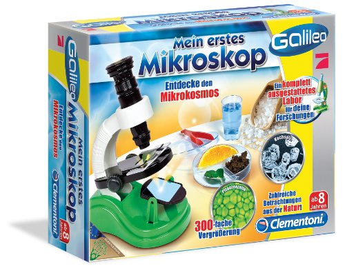 Clementoni 69251.4 - Galileo - Mein erstes Mikroskop