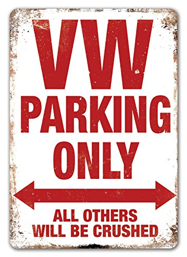 vw-parking-only-metal-wall-sign-plaque-volkswagen-transporter-golf-polo