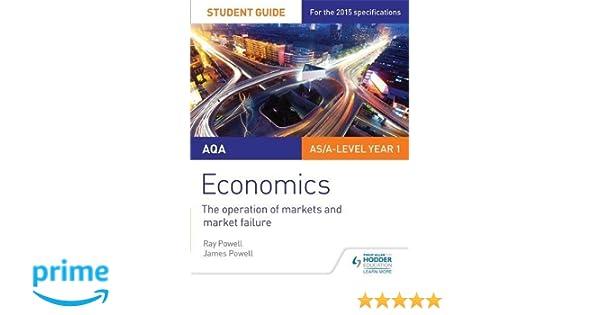 aqa economics student guide 1 the operation of markets and market rh amazon co uk