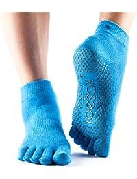Damen 1 Paar ToeSox Minnie Sport Voll-Zehe-Kn/öchel-hohe Socken