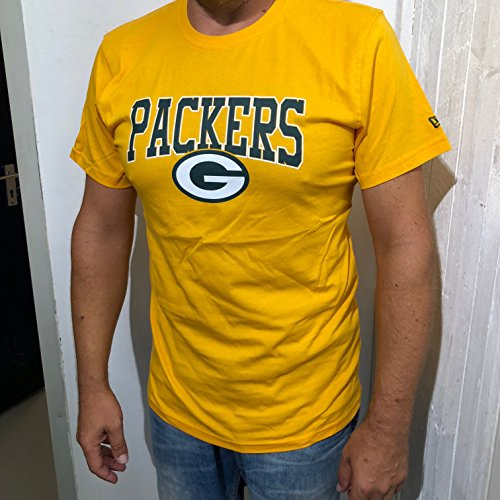 New Era Herren T-Shirts NFL Team Green Bay Packers gelb M -