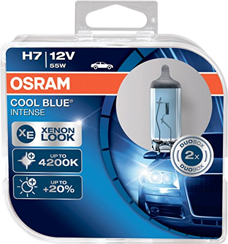 COOL BLUE INTENSE H7 de OSRAM, lámpara para faros...