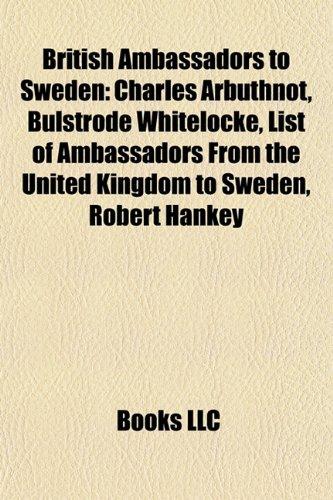 British Ambassadors to Sweden