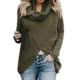 Beikoard Damen Solide Kapuzenpullover Hoodies Pullover Mantel Hoody Sweatshirt Sport Hoodies Lang Sweatshirt (Grün, X-Large)