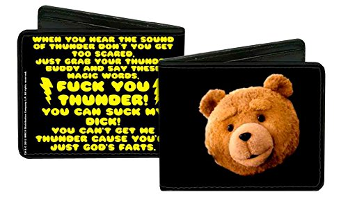 Image of Ted Comedy Movie Thunder Buddy Song Bi-Fold Wallet