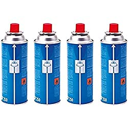 Campingaz CP 250 Screw On Gas Cartridge, pack of 4, for Camp Bistro and Festivo Camping Stoves, Compact and Resealable Canister