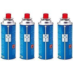 Campingaz CP250 - Cartucho de Gas, color Azul, 4 x 250 g