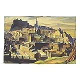 National Galleries of Schottland Edinburgh (von Salisbury Crags) William Crozier Geschirrtuch