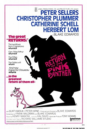 The Return of The Pink Panther Movie Poster (68,58 x 101,60 cm) (Poster Panther Pink)