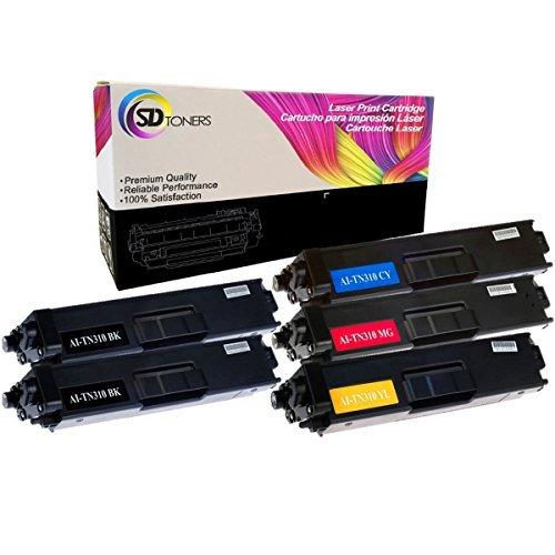 SD toners compatible cartouche de toner de remplacement pour Brother TN-315TN310pour Brother imprimante laser Noir BBCMY