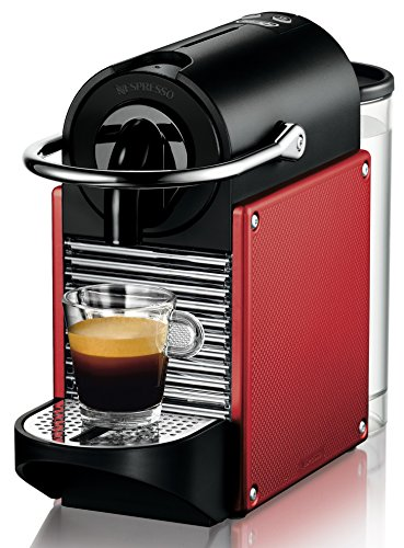 Nespresso DeLonghi Pixie EN 125R-Cafetera de cápsulas, 19 bares, apagado...