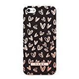 Chic Rose Gold Heart Customized Personal