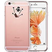 iPhone 6Hülle, iPhone 6S Schutzhülle, ESR transparent weiche TPU Rückabdeckung mit niedlichem Muster für 11,9cm iPhone 6/6S (Little Lamb)