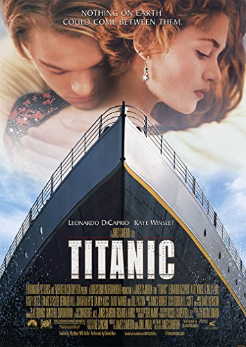 Titanic - Leonardo DiCaprio Kate Winslet Movie Film for sale  Delivered anywhere in UK