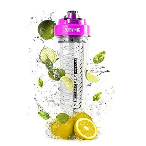 Duronic 600 CR /PK Botella de Agua 100% Free BPA con Filtro Infusor de 600...
