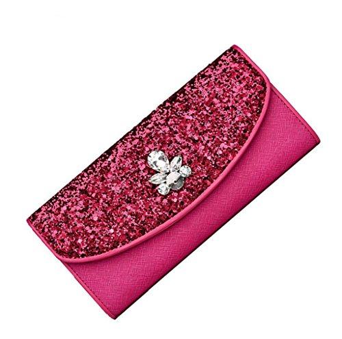 Heart&M Langes Abendkleid Ledertasche im High-End-Qualität Lady Hand Tasche Handtasche Red