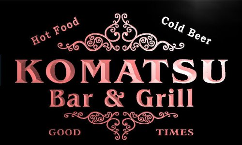 u24058-r-komatsu-family-name-bar-grill-home-beer-food-neon-sign-enseigne-lumineuse
