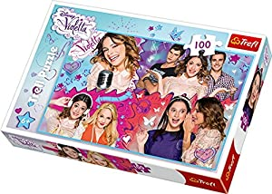 TREFL 16242 Puzzle Puzzle - Rompecabezas (Puzzle Rompecabezas, Televisión/películas, Niños, Disney, Violetta, Chica)